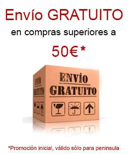 envío gratuito en compras superiores a 50 euros